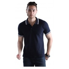 Wild Horn Polo T-Shirts  Navy/Navy with Navy Jacquard ( WH2 )