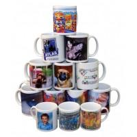 Ceramic Normal Handle Mug With Printing